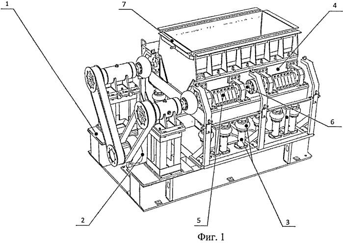 Устройство для виброударной обработки деталей
