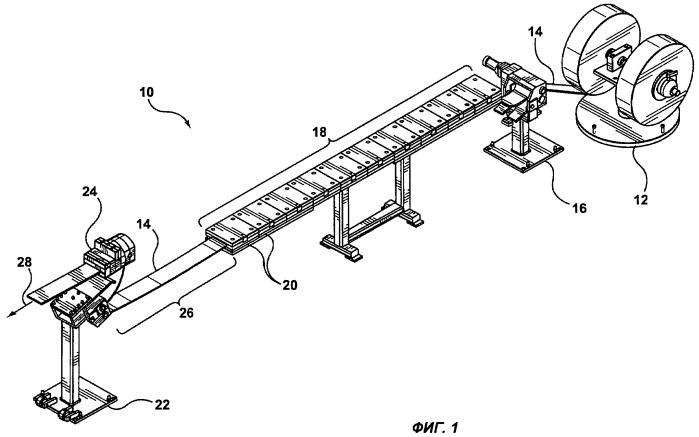 Устройство и способ предварительной обработки слоя скольжения для поручней из экструдированного композиционного материала