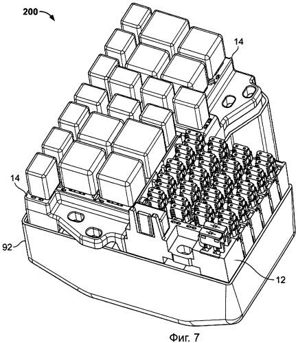 Модульный узел распределения энергии и способ его получения