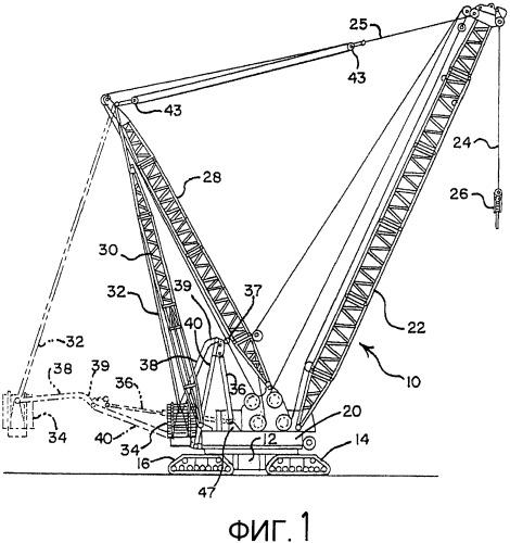 Самоходный подъемный кран и способ его сборки (варианты)