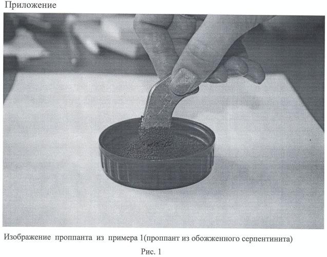 Способ изготовления композиционного магнийсиликатного проппанта и проппант