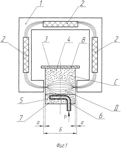 Способ получения металлического алюминия из воздушной взвеси глиняных частиц и устройство для его осуществления