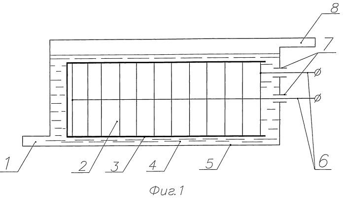 Биполярный электролизер для получения смеси водорода и кислорода