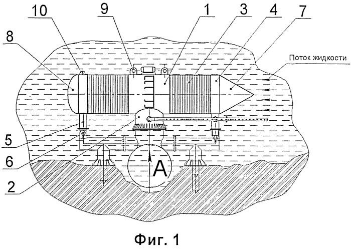 Погружной водозаборный фильтр