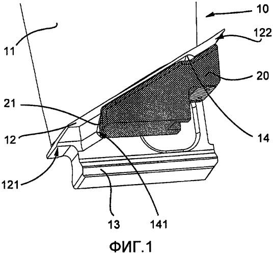 Узел вентиляторной лопатки с амортизатором, амортизатор вентиляторной лопатки и способ калибровки амортизатора