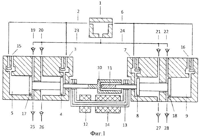 Способ продувки камеры сгорания свободнопоршневого двухцилиндрового энергомодуля с общей внешней камерой сгорания и линейным электрогенератором