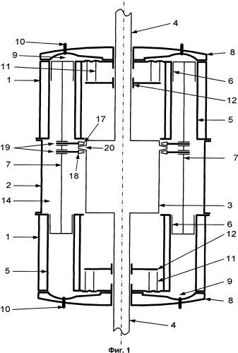 Бесшатунный двигатель внутреннего сгорания и устройство преобразования возвратно-поступательного движения во вращательное и наоборот