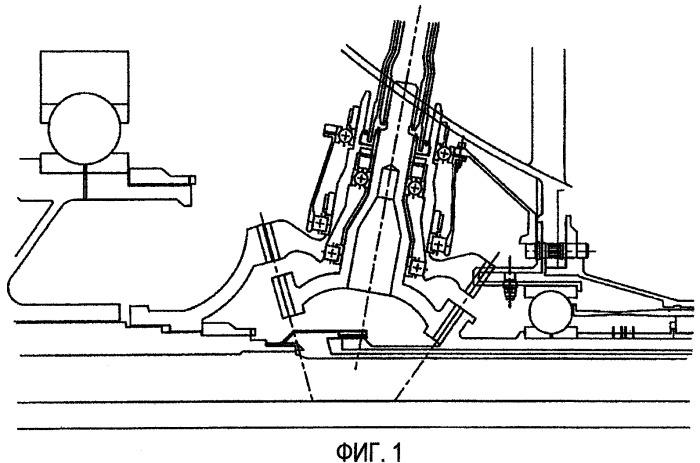 Газотурбинный двигатель со средствами приведения в движение зубчатых передач блока вспомогательного оборудования и способ монтажа такого двигателя
