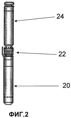 Электрический погружной насос с компрессионной трубой