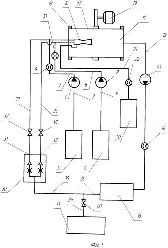 Стенд для подготовки многокомпонентной водогазонефтяной смеси к анализу