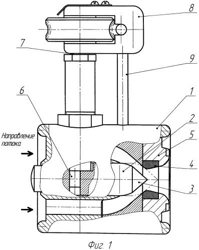 Клапан регулирующий осевого типа