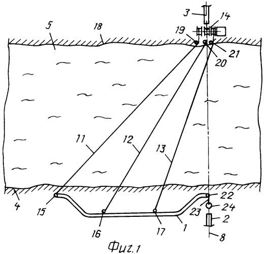 Способ прокладки подводного трубопровода