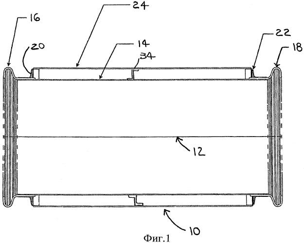 Трубопровод, секция трубопровода и способ ее изготовления