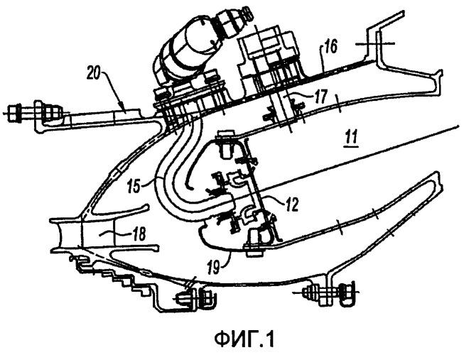 Кольцевая камера сгорания газотурбинного двигателя