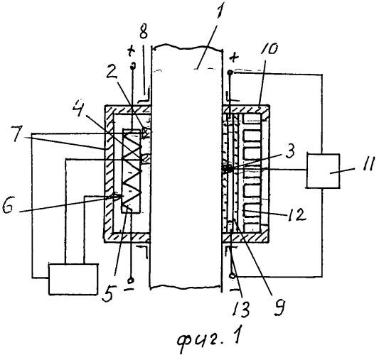 Устройство измерения сопротивления теплопередаче строительной конструкции