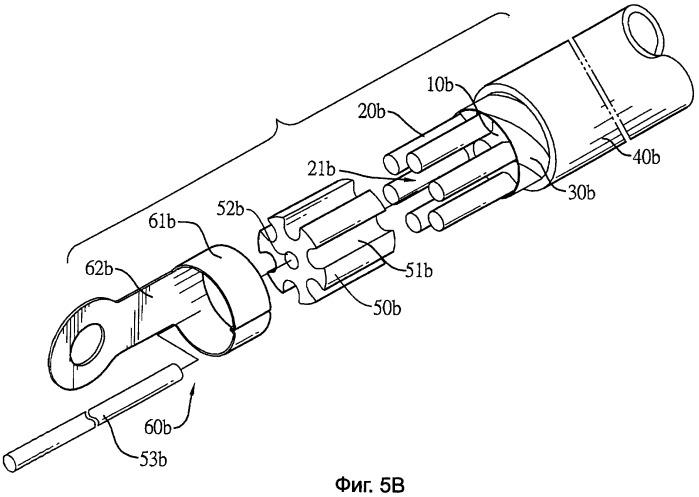 Кабель с параллельной структурой и арматурой для проводников, обладающий высокой проводимостью