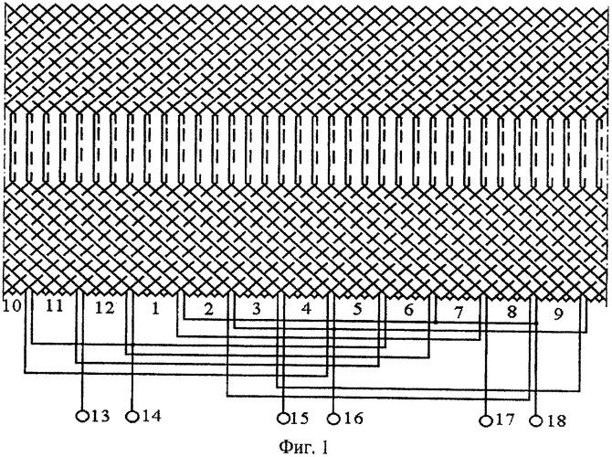 Статорная обмотка сварочного асинхронного генератора