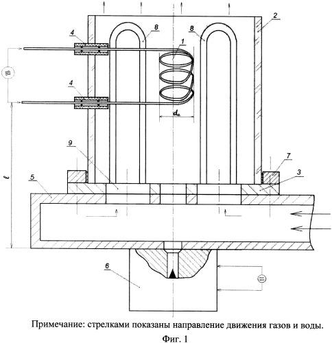 Высокочастотный плазмотрон