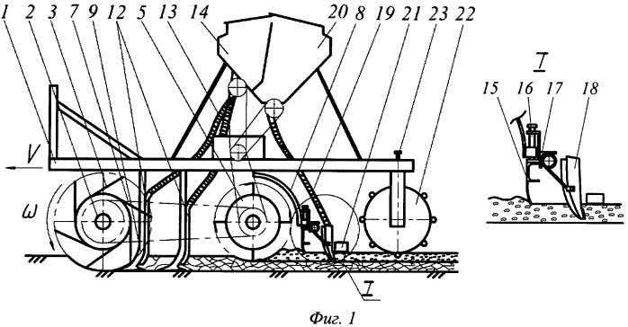 Агрегат для предпосевной обработки почвы и посева