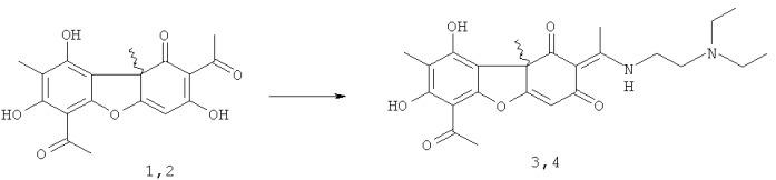 Получение квартернизованных производных усниновой кислоты и их биологические свойства