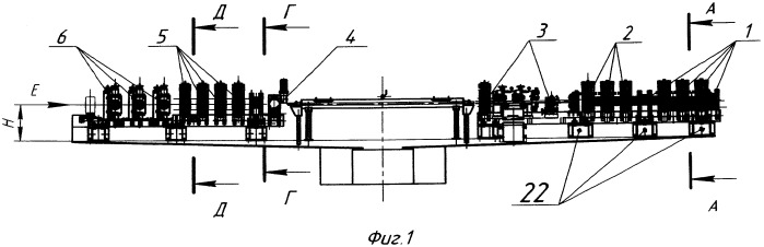 Устройство для измерения радиальных усилий и настройки калибров валков клетей трубоэлектросварочного агрегата