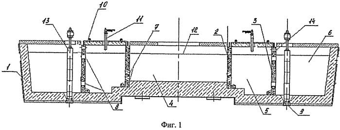 Промежуточный ковш для разливки стали с камерами для плазменного подогрева жидкого металла