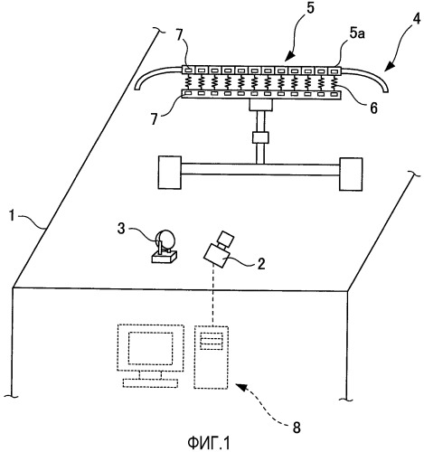 Устройство измерения контактного усилия и способ измерения контактного усилия
