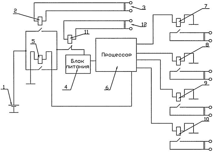 Способ контроля и управления буферным накопителем энергии гибридного транспортного средства