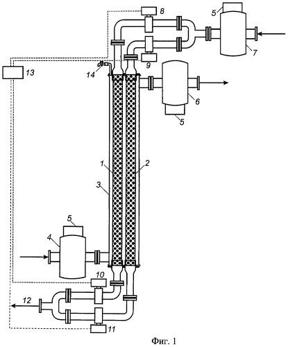 Способ фазоселективного экстрагирования пивного затора и установка для фазоселективного экстрагирования пивного затора