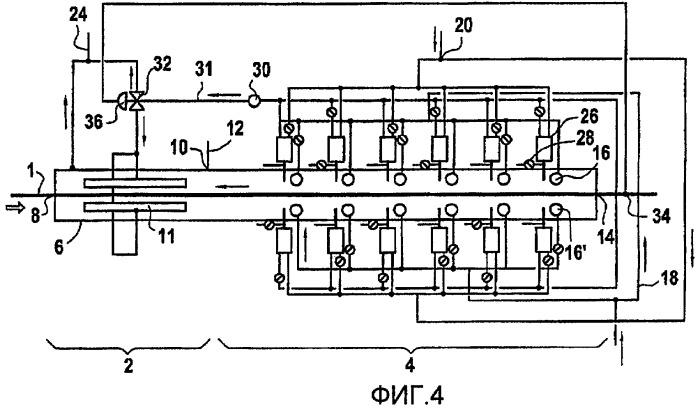 Способ и установка для нагрева металлической полосы, в частности, с целью отжига