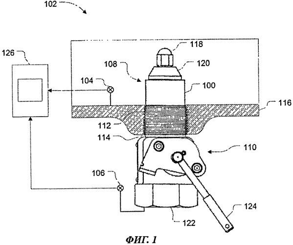 Способ и устройство для определения положения клапана