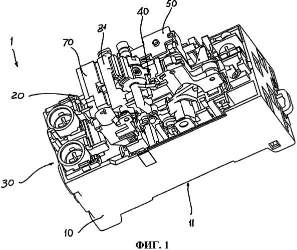 Автоматический выключатель для применения в низковольтных цепях