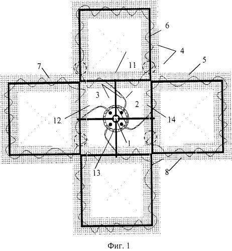 Способ формирования структуры кроны виноградника (вариант русской логики - версия 4)
