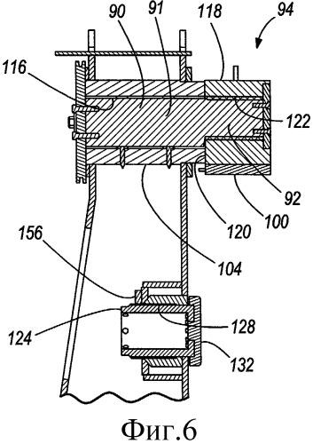 Опорный блок с регулируемыми изнашивающимися накладками для электрического карьерного экскаватора