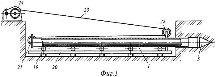 Устройство для бестраншейной прокладки трубопроводов способом прокола