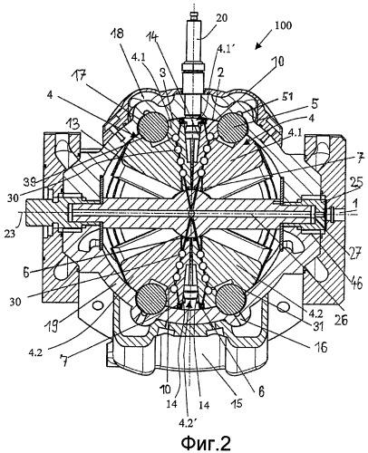 Система с текучей средой для двигателей с качающимися поршнями