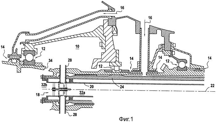 Центробежный маслоотделитель с переменным проходным сечением