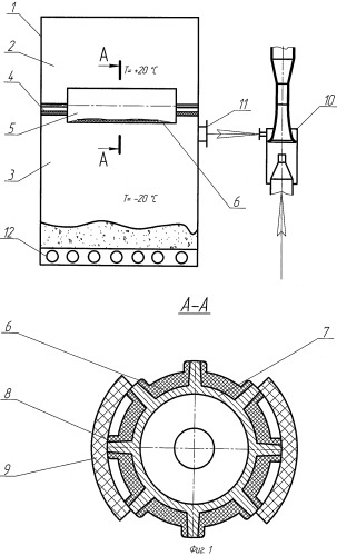 Способ непрерывной вакуум-сублимационной сушки с использованием наноматериалов и термоэлектрических модулей и установка для его осуществления