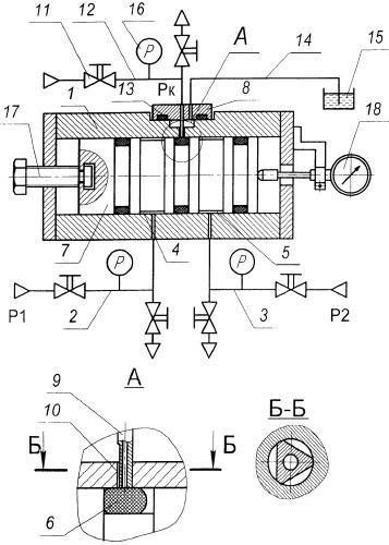 Устройство для измерения контактного давления эластичных уплотнений