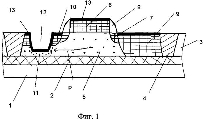 Транзистор со структурой металл-окисел-полупроводник на подложке кремний на изоляторе