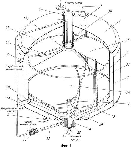 Вакуум-выпарной аппарат