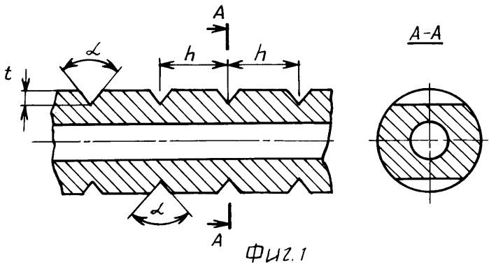 Способ изготовления спиралевидного многогранного змеевика теплообменника из толстостенных жаропрочных труб
