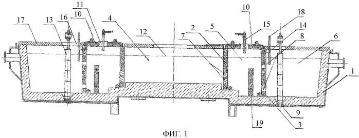 Промежуточный ковш мнлз для плазменного подогрева металла