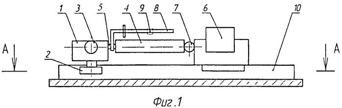 Устройство для обкатывания ребер панелей с регулируемой нагрузкой