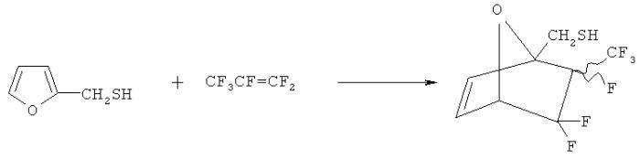 Способ получения ((1r,4s)-2,3,3-трифтор-2-(трифторметил)-7-окса-бицикло[2.2.1]гепт-5-ен-1ил) метантиола