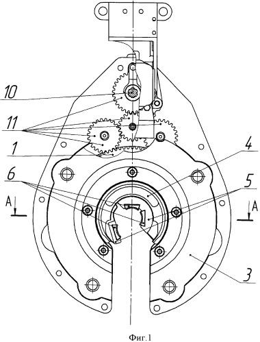Опорный узел ротора гидравлического ключа