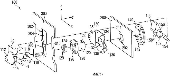 Устройство для крепления модульного элемента в воздушном судне
