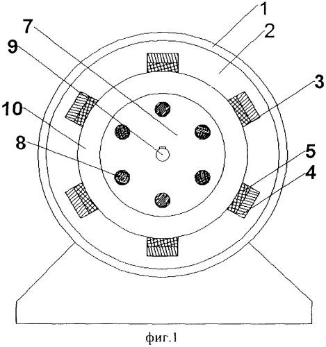 Трехфазный асинхронный электрический двигатель