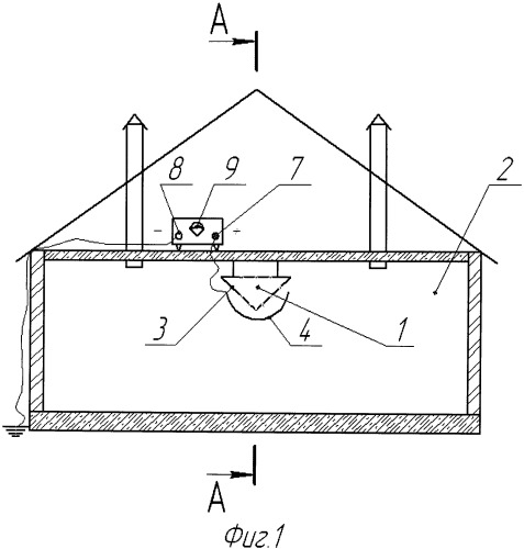 Способ санитарной обработки воздуха в животноводческом помещении