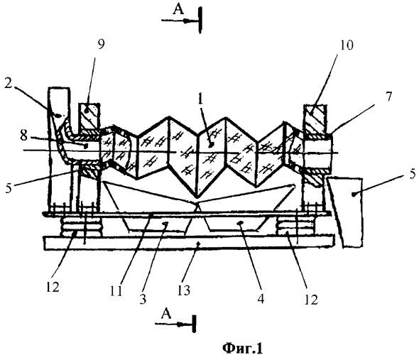 Грохот вибрационный для классификации строительных материалов
